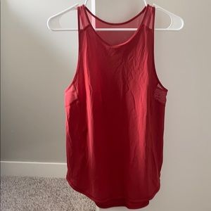 Lulu lemon red tank